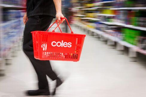 Wesfarmer's Coles supermarket