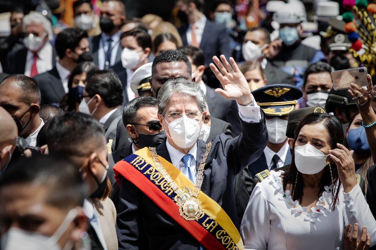Ecuadorian President Guillermo Lasso Takes Office
