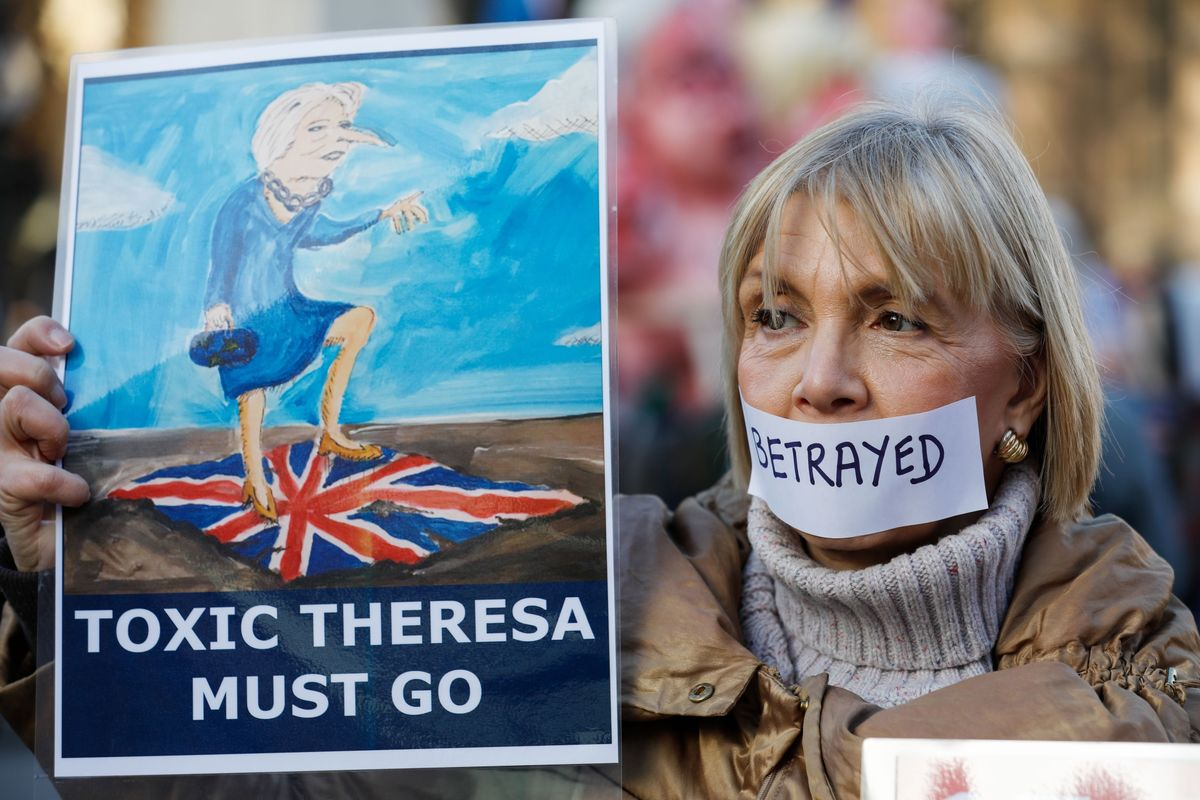 May's Other Option on Brexit