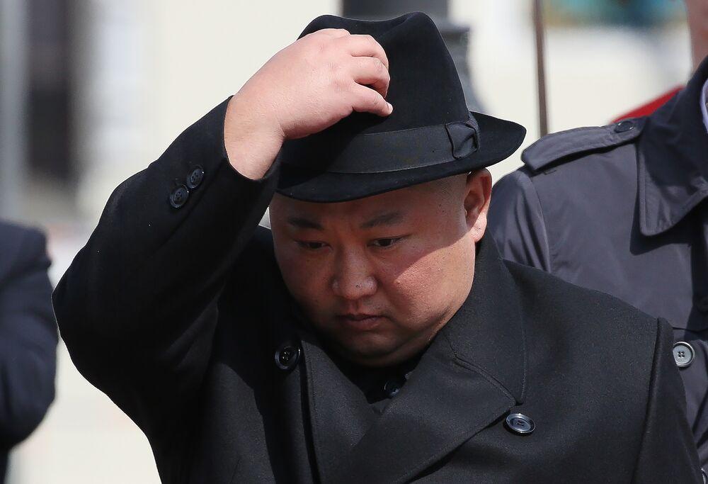 Nhà lãnh đạo Triều Tiên Kim Jong Un năm 2019. @Andrey Rudakov/Bloomberg