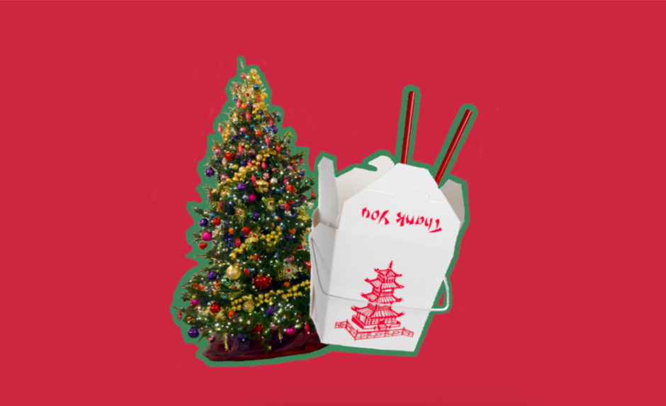 Chinese Take-Out Christmas Ornament