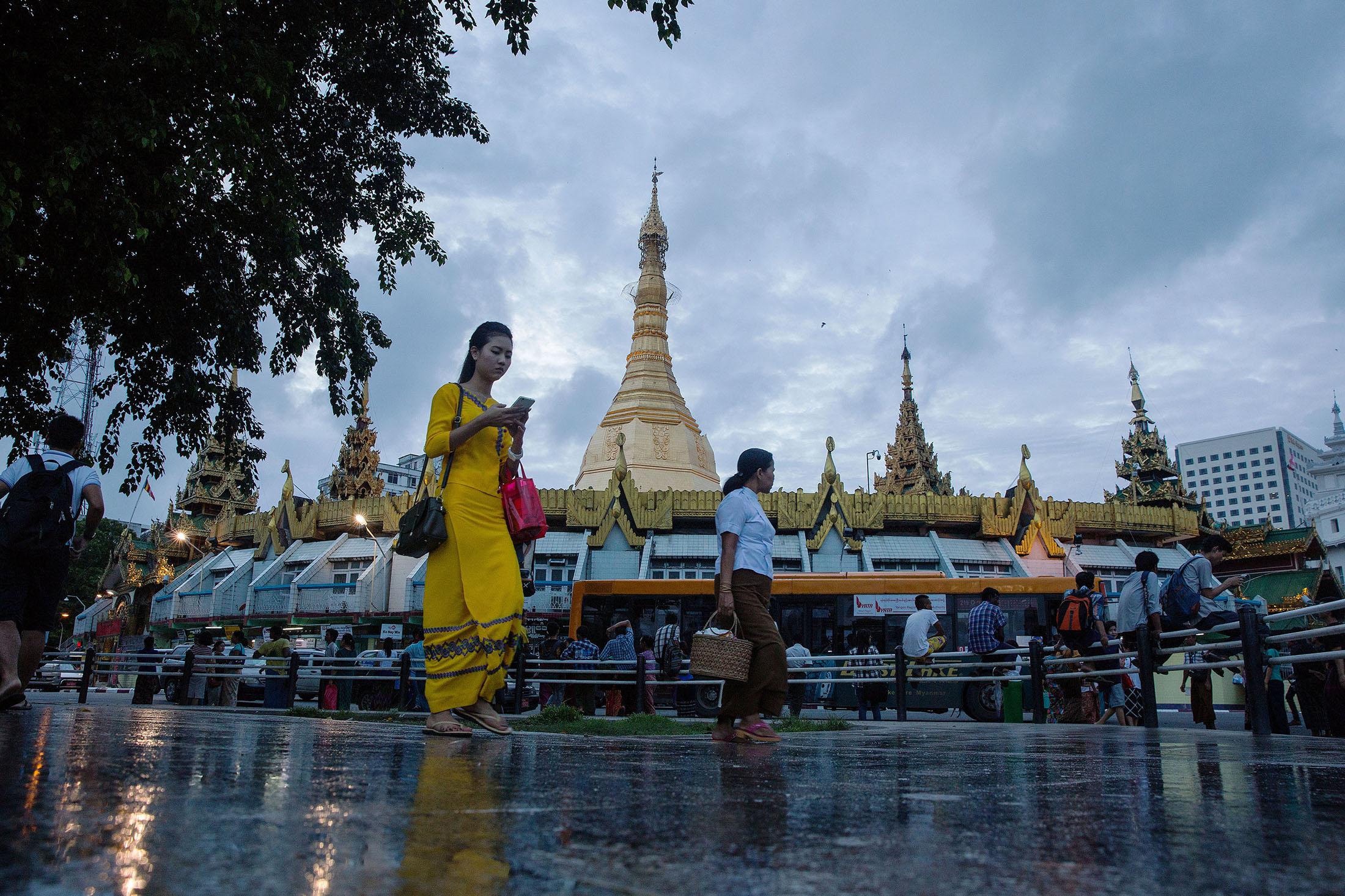 The Unprecedented Explosion of Smartphones in Myanmar