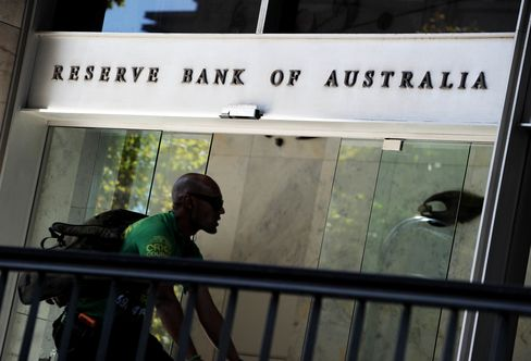 AUSTRALIA-ECONOMY-RATE-BANK-FOREX