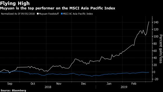 Asia's Top Stock Is Now a Chinese Pig Farmer After 85% Surge