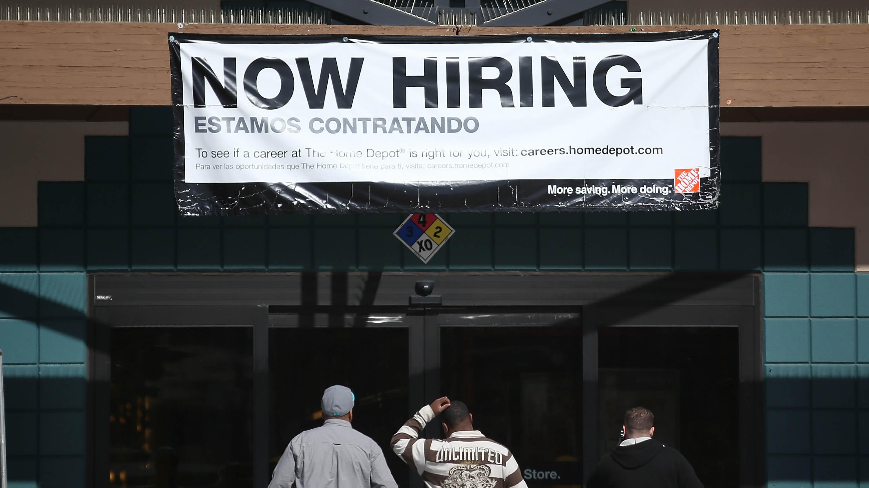 U S  Adds 200,000 Jobs