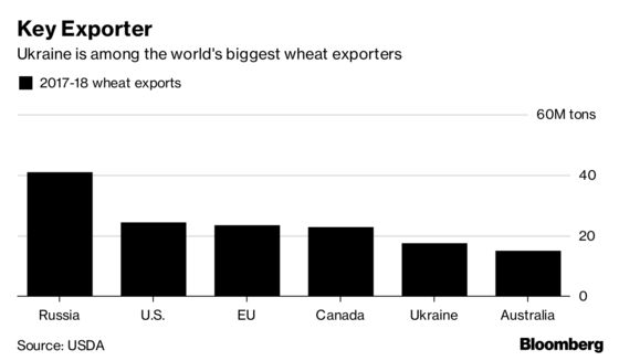 Wheat Market Goes Haywire After Ukraine Signals Export Limits