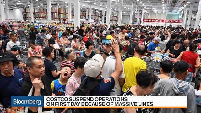 Shanghai Costco Restricts Shoppers Day After China Debut