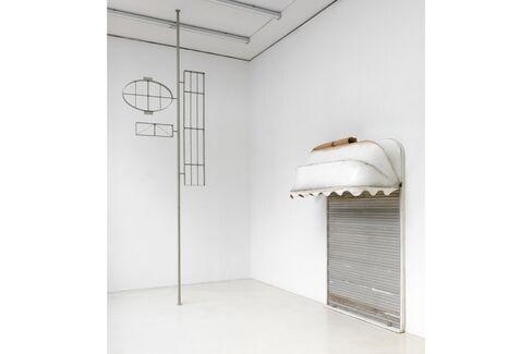 """Installation view, FORT, """"About Blank,"""" Sies + Höke, Düsseldorf"""