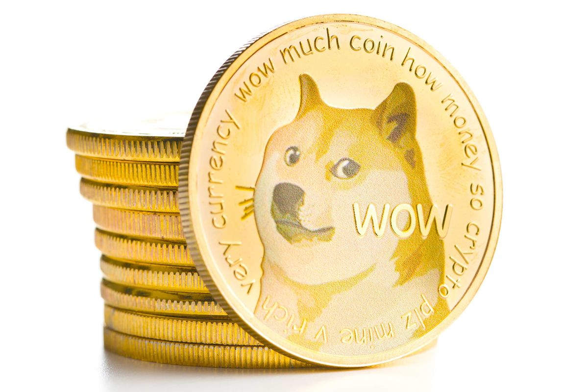 Dogecoin Is Up Because It's Funny