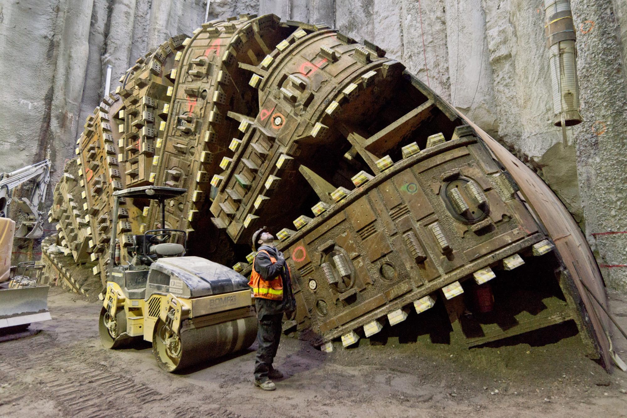 seattle tunnel machine