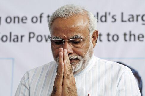 Indian PM Candidate Narendra Modi