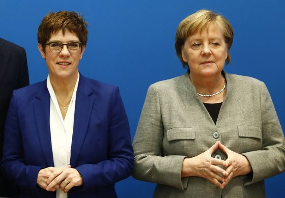 Merkel Will Take an Active Role in Choosing Her Next Successor