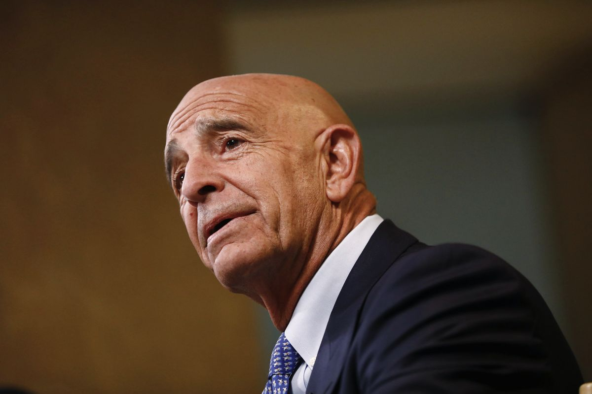 Trump Ally Tom Barrack Held in Jail on Illegal-Lobbying Charges