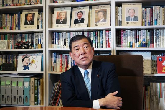 Ex-Japan Defense Minister Launches Long-Shot Bid to Unseat Abe
