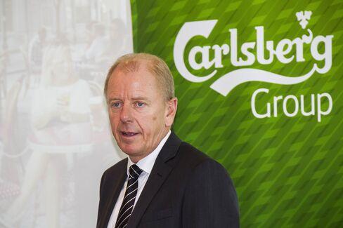 Carlsberg CEO Joergen Buhl Rasmussen