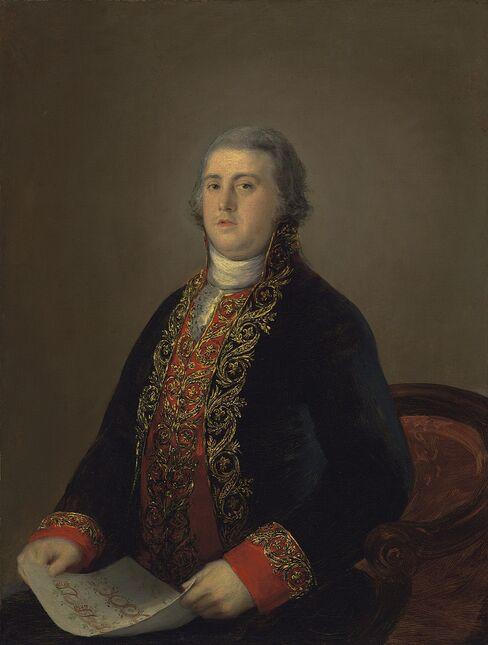 Portrait of Don Juan Lopez de Robredo