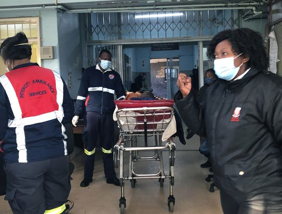 Hospitals in S. Africa Hub Face Being Overrun by Covid Surge