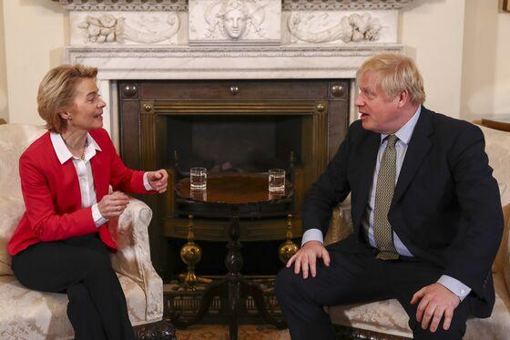 U.K., EU Pause Brexit Talks; Johnson, von der Leyen to Hold Call