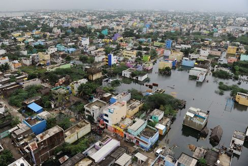 INDIA-FLOODS-WEATHER-DISASTER