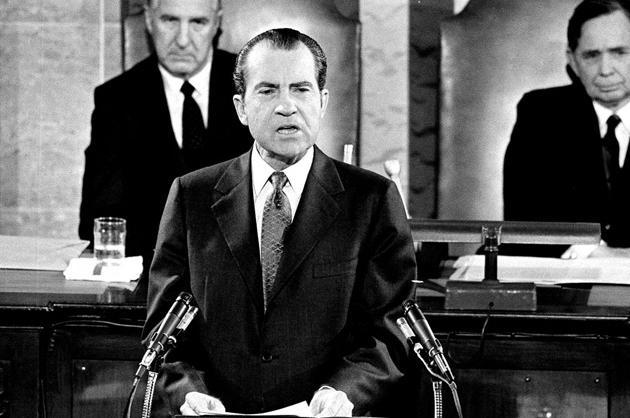 Richard Nixon, 1970