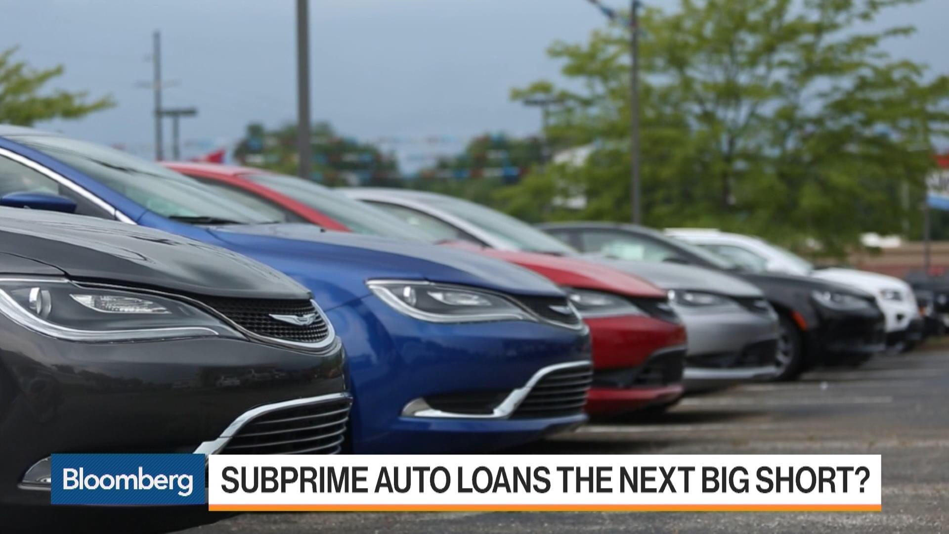 Permalink & Deepu0027 Subprime Car Loans Hit Crisis-Era Milestone - Bloomberg markmcfarlin.com