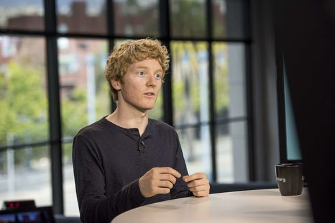 Patrick Collison, Stripe's chief executive officer.
