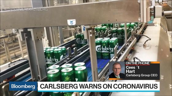 Carlsberg Says Coronavirus to Curb Beer Sales