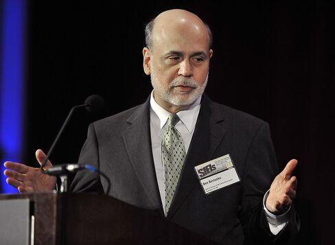 Bernanke Sees Important Risks in Wholesale Funding Markets