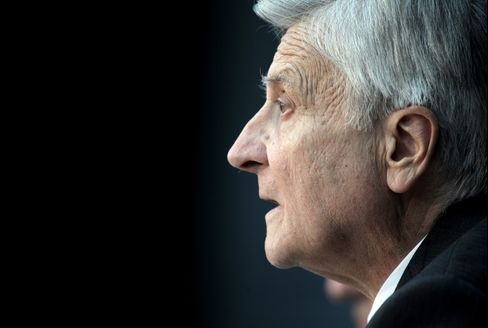 European Central Bank president Jean-Claude Trichet
