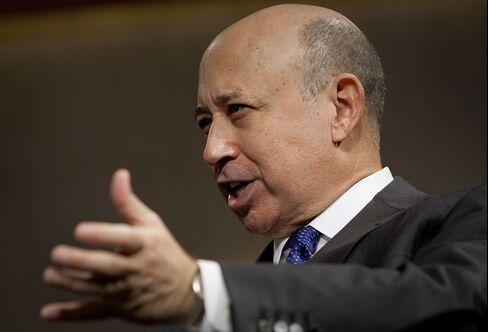 Goldman Sachs Group Inc. Chairman and CEO Lloyd C. Blankfein