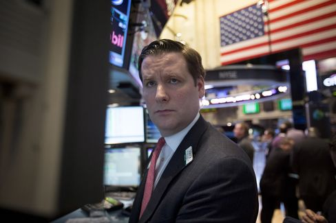 U.S. Stocks Decline After Record Highs Amid Retail Sales Data