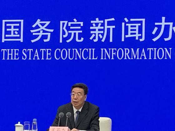 China Touts Success Building Tibet Less Focused on Religion