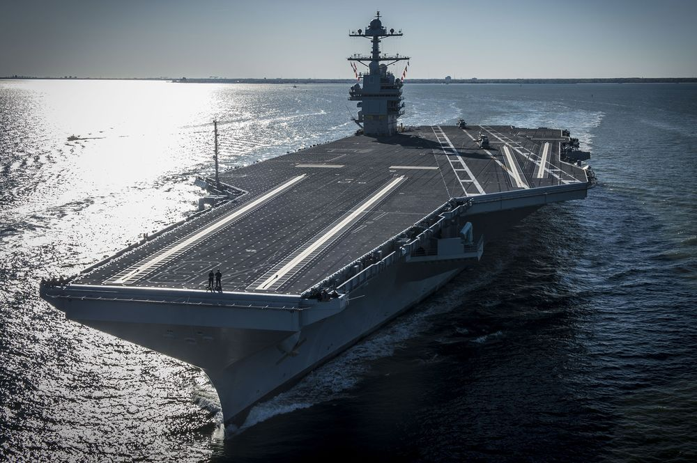 Navy Proposal to Buy Two Carriers Draws Scrutiny From Pentagon