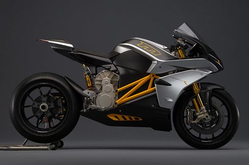 2014 Mission R electric motorcycle by Mission Motors