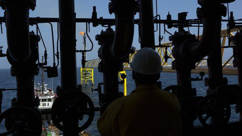 Pemex Platform in the Gulf of Mexico