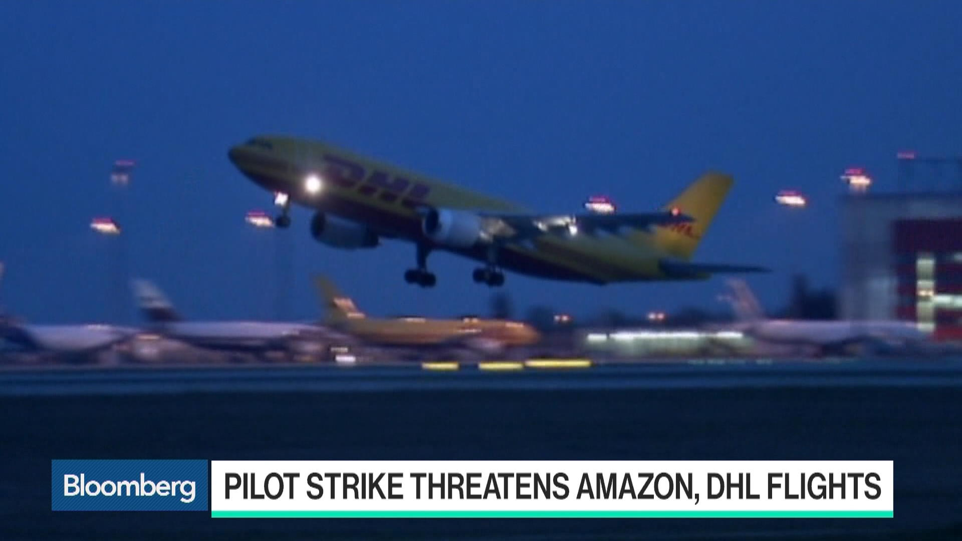 Amazon Air Contractor Aims to Force Striking Pilots to Work
