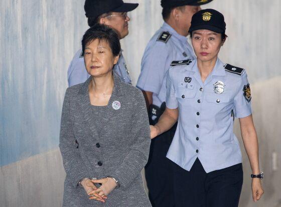 South Korea to Decide on Ex-President Park's Prison Suspension