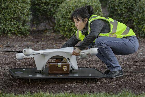 UPSBegins First Regular Commercial Drone Deliveries in U.S.