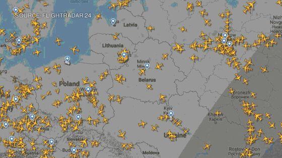 Airlines Flying Around Belarus Face Delays, Higher Fuel Burn