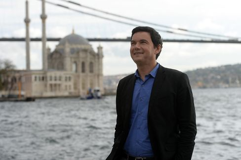 French economist Thomas Piketty in Istanbul