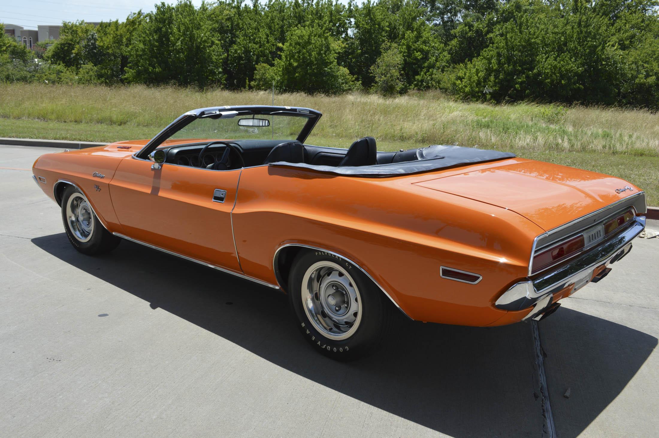 1970 Dodge Challenger R/T SE Convertible