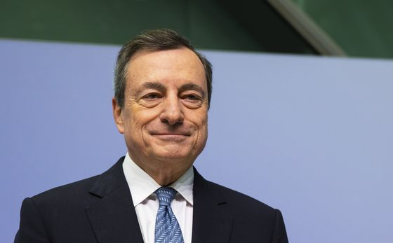 Draghi's $3 Trillion QE Bet Isn't a Winner Yet as Economy Wavers