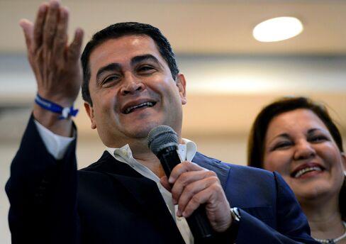 Honduran President-Elect Juan Orlando Hernandez