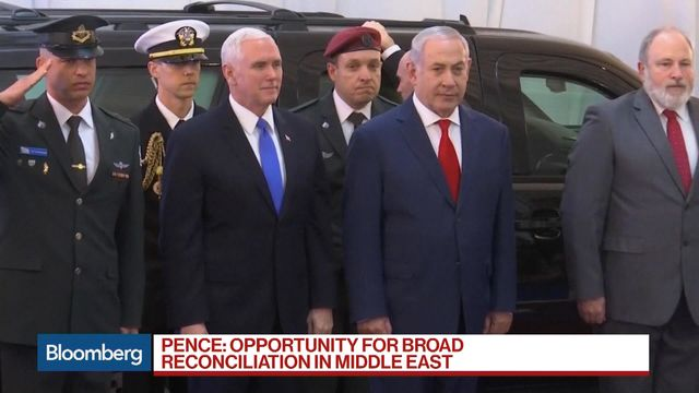 Brawl between Arab MPs & security staff interrupts Pence's speech in Israeli parliament