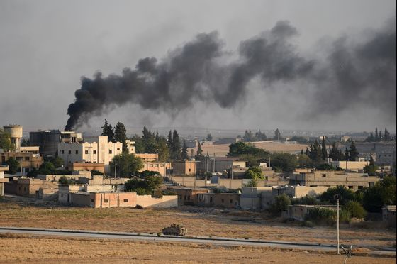 Syrian Fight Heats Up With U.S. on Sidelines