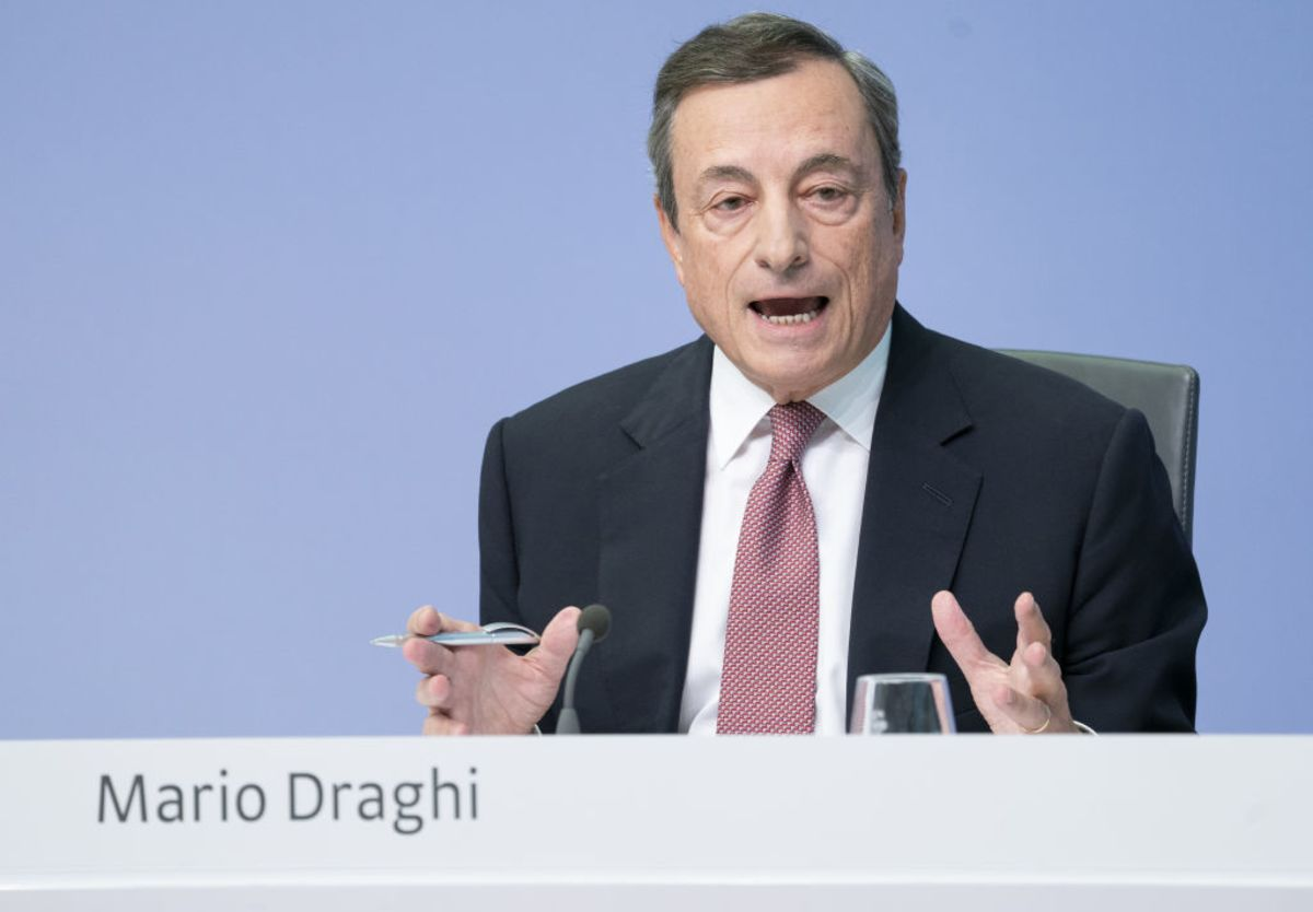 Draghi's Animal House Moment Shocks Bond Traders
