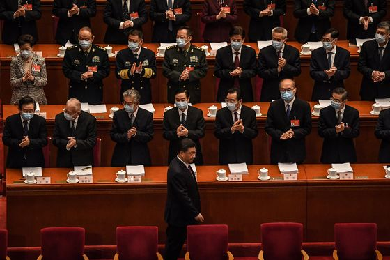 Xi Goes Mask-Free at NPC,Raising Questions Over Vaccination Status