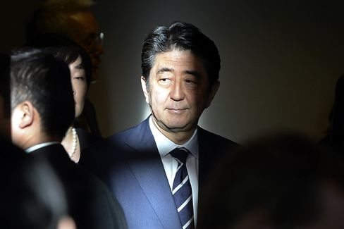 Japanese Prime Minister Shinzo Abe Visits Los Angeles