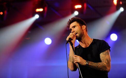 Singer Adam Levine
