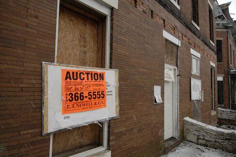Baltimore Foreclosures Triple as Legal Logjam Breaks: Mortgages